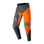 Alpinestars Crossbroek 2022 Racer Supermatic - Antraciet / Oranje