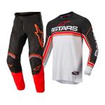 Alpinestars Crosskleding 2022 Fluid Speed - Zwart / Grijs / Rood