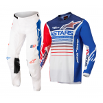 Alpinestars Crosskleding 2022 Racer Compass - Wit / Rood / Blauw
