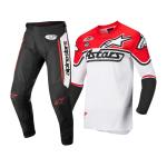Alpinestars Crosskleding 2022 Racer Flagship - Wit / Fluo Rood / Zwart