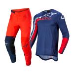 Alpinestars Crosskleding 2022 Supertech Blaze - Blauw / Rood / Wit