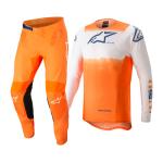 Alpinestars Crosskleding 2022 Supertech Foster - Wit / Oranje / Blauw