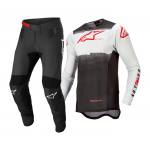 Alpinestars Crosskleding 2022 Supertech Foster - Wit / Zwart / Fluo Rood