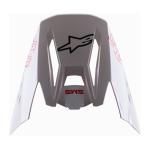 Alpinestars Helmklep S-M5 Bond - Wit / Zwart / Rood