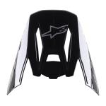 Alpinestars Helmklep S-M5 Venture - Zwart / Bordeaux / Geel / Wit