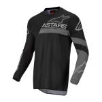 Alpinestars Kinder Cross Shirt 2022 Racer Graphite - Zwart