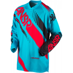 Answer Cross Shirt 2017 Syncron - Jeugd - Cyan / Rood