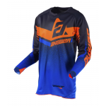 Answer Cross Shirt 2019 Trinity - Zwart / Cobalt / Flo Oranje