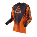Answer Kinder Cross Shirt 2019 Syncron Drift - Flo Oranje / Charcoal