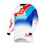 Answer Cross Shirt 2020 Elite Korza - Wit / Rood / Hyper Blauw / Reflex