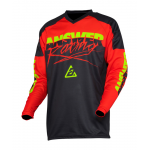 Answer Cross Shirt 2020 Syncron Pro Glow - Rood / Zwart / Hyper Acid