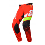 Answer Crossbroek 2020 Elite Korza - Rood / Wit / Hyper Acid / Zwart