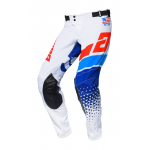 Answer Crossbroek 2020 Elite Korza - Wit / Rood / Hyper Blauw / Reflex