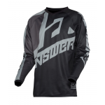 Answer Kinder Cross Shirt 2020 Syncron Voyd - Zwart / Charcoal / Steel