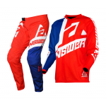 Answer Kinder Crosskleding 2020 Syncron Voyd - Rood / Reflex / Wit
