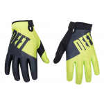 Deft Family Crosshandschoenen EQVLNT Choice - Lime / Zwart