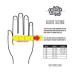 Deft Family Crosshandschoenen Artisan Evident - Wit / Oranje