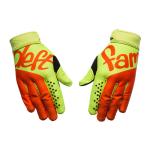 Deft Family Crosshandschoenen Catalyst Aura - Glow Groen / Oranje