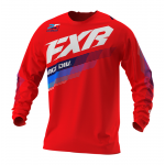 FXR Cross Shirt 2021 Clutch - Rood