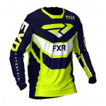 FXR Cross Shirt 2021 Podium - Navy / Hi-Vis / Wit