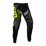 FXR Crossbroek Off-Road 2021 Podium - Zwart / Charcoal / Hi-Vis