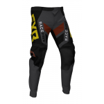 FXR Crossbroek Off-Road 2021 Podium - Zwart / Charcoal / Rust / Goud