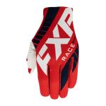 FXR Crosshandschoenen 2021 Slip-On Lite - Rood / Navy