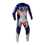 FXR Crosskleding Off-Road 2021 Podium - Licht Grijs / Navy / Nuke / Sky