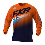 FXR Kinder Cross Shirt 2021 Clutch - Oranje / Midnight