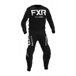 FXR Kinder Crosskleding 2021 Podium - Zwart / Wit