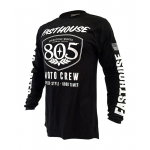Fasthouse Cross Shirt 2019 805 Shield Air Cooled - Zwart
