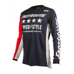 Fasthouse Cross Shirt 2019 Alpha L1 - Navy