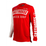 Fasthouse Cross Shirt 2019 Block L1 - Rood