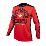 Fasthouse Cross Shirt 2019 Funkhouse - Rood