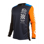 Fasthouse Cross Shirt 2019 Icon L1 - Navy / Oranje