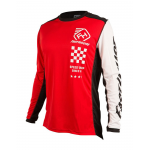 Fasthouse Cross Shirt 2019 Icon L1 - Rood
