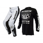 Fasthouse Crosskleding 805 Shield Air Cooled - Zwart / Wit
