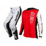 Fasthouse Crosskleding Icon L1 - Rood / Wit