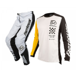 Fasthouse Crosskleding Icon L1 - Wit / Geel
