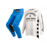 Fasthouse Crosskleding Originals Air Cooled L1 - Wit / Blauw