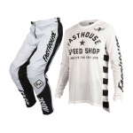 Fasthouse Crosskleding Originals Air Cooled L1 - Wit