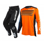 Fasthouse Kinder Crosskleding Staple L1 - Oranje / Zwart
