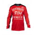 Fasthouse Cross Shirt 2020 Dickson - Rood