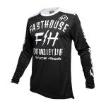 Fasthouse Cross Shirt 2020 Dickson - Zwart XXL