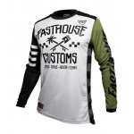 Fasthouse Cross Shirt 2020 Hawk - Olive
