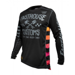 Fasthouse Cross Shirt 2020 Hawk - Zwart