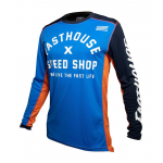 Fasthouse Cross Shirt 2020 Heritage - Blauw