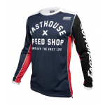 Fasthouse Cross Shirt 2020 Heritage - Navy