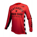 Fasthouse Cross Shirt 2020 Originals Air Cooled - Rood