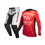 Fasthouse Crosskleding 2020 Dickson - Rood / Wit